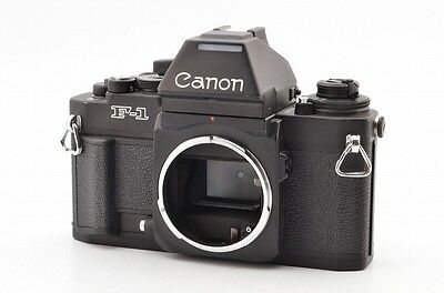 【 Excellent 】 Canon New F1 SLR Film Camera Body w/ AE Finder from JAPAN #1207