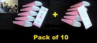 10xEASYPEEsy - Female,Disposable Urinal - Wee Funnel-Camping,Hiking,Festival