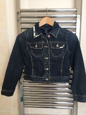 Girls Gap Jean Jacket, Faded Blue, Age 10 To 11 Years
