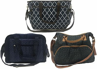 Summer Infant TOTE CHANGING BAG Newborn/Baby Nappy/Diaper Bag Parent Travel BN
