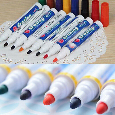 12 x Niceday Whiteboard Marker WBM2.5 Bullet Tip Blue V4JW#