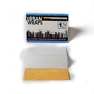 Urban Wraps Rolling Papers 1 1/2 Size