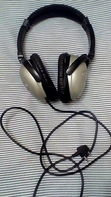 Qantas Airline In-Flight Stereo Headset