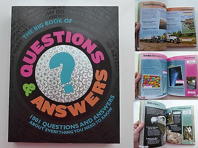1001 QUESTIONS AND ANSWERS - BIG BOOK - Space Science Nature History Technology