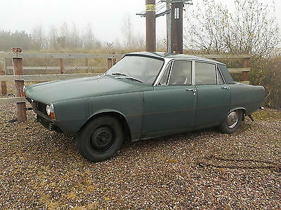 1970 Rover 2000 Automatic, 80,000 Miles, 3 Former Keepers