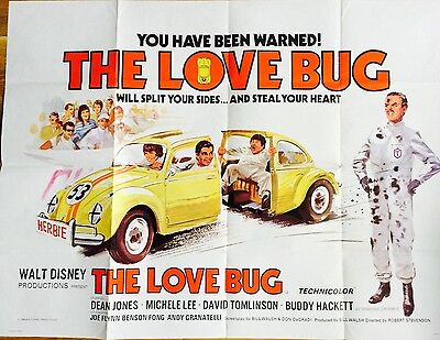 The Love Bug Original Film Poster                  First In The Herbie Films