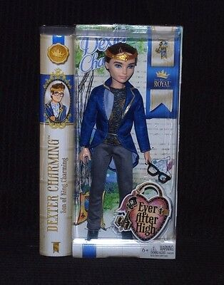 Ever After High Royal - Son of King Charming - Dexter Charming Doll BNIB