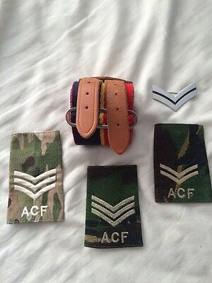 Army Cadets Stable Belt With Accessories