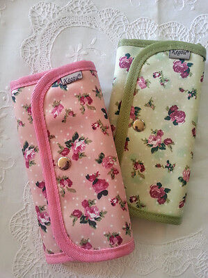 * Crochet Hook or Makeup Brush Case/Tote/Bag * Comes Empty * 2 Colours *