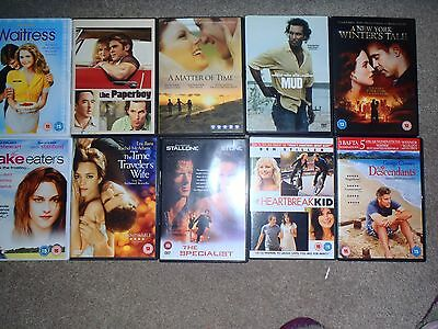 Bundle of 10 DVD's in excellent condition