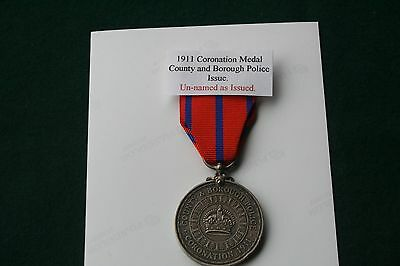 1911 Coronation Medal - County and Borough Reverse..