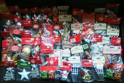 Selection Of 57 Sets Of Vintage WOOLWORTHS Xmas Tree Decorations ALL SEALED