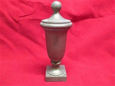 "Large Vintage Heavy Brass Architectural Finial J Blum NY 5"" Tall Steampunk"