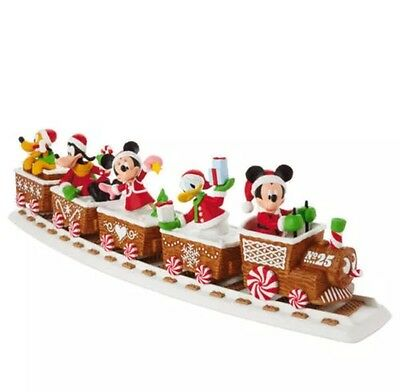 2016 Hallmark Disney Christmas Express Train Mickey Mouse Track Complete Set!