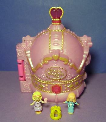 Polly Pocket Mini ♥ Zauberhafte Krone ♥ Crown Palace ♥ 100% complete ♥ 1996 ♥