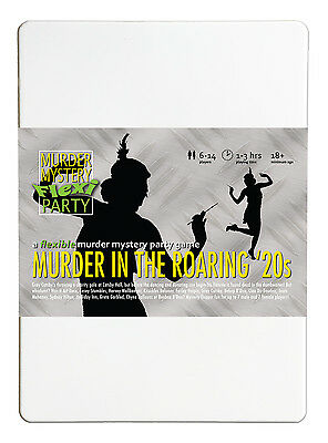Murder in the Roaring '20s - Murder Mystery Flexi Dinner Party for 6-14 Players