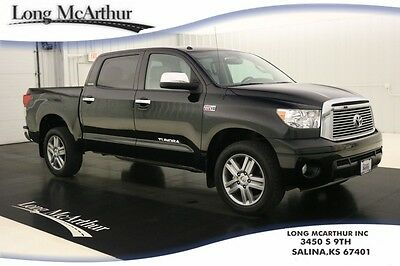 2013 Toyota Tundra LIMITED 4X4 CREW CAB NAV MOONROOF 4WD 4 DOOR NAVIGATION SUNROOF LEATHER SEATS REAR DVD PLAYER