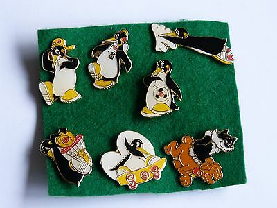 Penguin United Biscuits Promotional Badge Button Pin Job Lot
