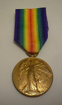 Ww1 Victory Medal - Royal Navy Casualty Hms Bacchante