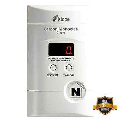 Co2 Carbon Monoxide Detectors Alarm Nighthawk Sensor Danger Digital Lcd Display