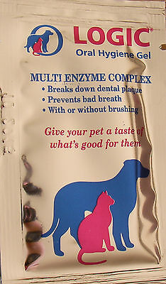 Logic Oral Hygiene Gel - 5X Or 10X 5G Sachets- Pal Dental Care For Cats And Dogs