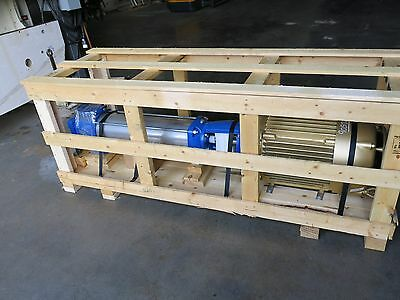 Goulds e-SV Pump & 50 HP Motor 33SV90GR4F60 New in Crate