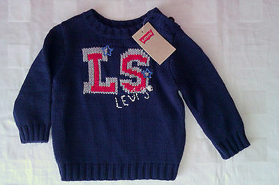 Levi's Baby Boy's Knitted Sweater( 9-12 Months) RRP:£33.00