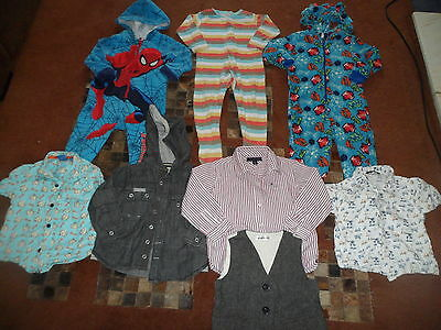Boys Clothes Bundle 18-24 months Shirts and Onesies
