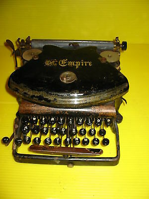 Early Thust Action Williams Empire Model Typewriter Circa 1890s
