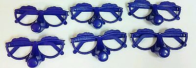 Funny Glasses BIG NOSE Blue Games Fun Laughter PARTY DRINKING Silly Collection
