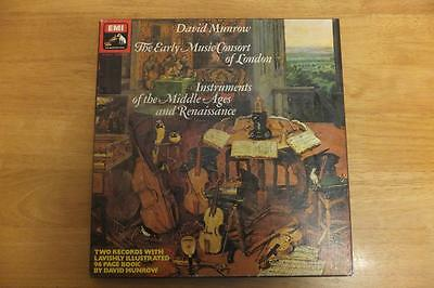 David Munrow-Instruments Of The Middle Ages And Renaissance-Emi-2 Lp Box Set