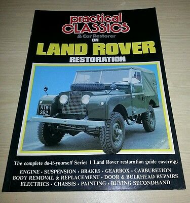 Practical Classics Land Rover Series 1 Restoration Good Condition Free Postage