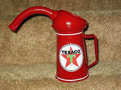 Vintage 1 Quart oil Can - Texaco