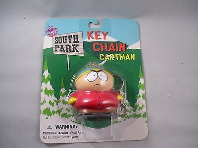 """rare"" South Park Cartman Key Chain On Bubble Card 1998"