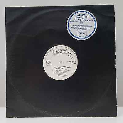 """Alton Edwards - I Just Wanna (Spend Some Time With You) - 12"""" Vinyl Single"""