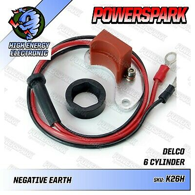 AC Delco D200 D202 D204 6 Cyl Distributor High Energy Electronic Ignition Kit