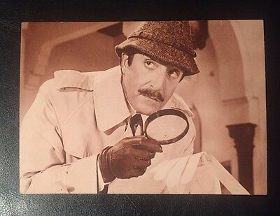 Vintage 1960s Pink Panther Inspector Clouseau Peter Sellers Real Photo Postcard