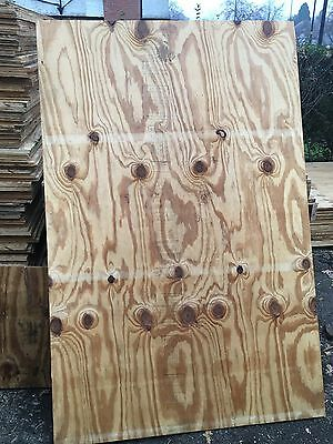 Reclaimed 6x4 exterior grade plywood boards 20mm Various Sizes Available