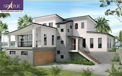 Two Storey Plan 332, 4 Bedrooms - Size 332.9m2, engineered to codes