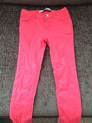 Girls 5-6yrs Jeans (pink)