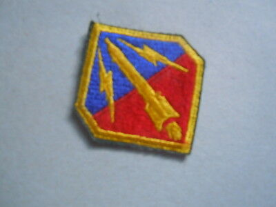 US Army Patch cut edge orig. WWII