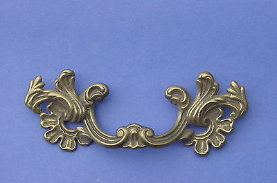 Italian Brass Drawer Pull French Provincial Style Antique Vintage NOS Very Nice