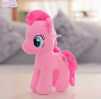 2016NEW My Little Pony Horse Pinkie Pie Figures Stuffed Plush Soft Doll Toy Gift