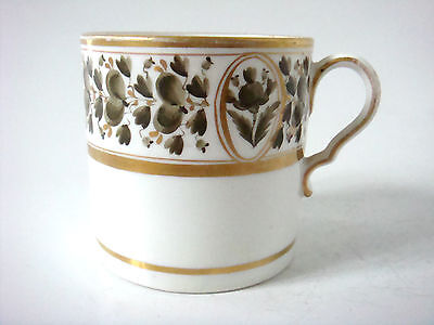 Spode Porcelain Regency Period Coffee Can - Pleasingly Decorated C1810
