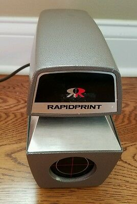 RapidPrint AD-E Received Date Stamp