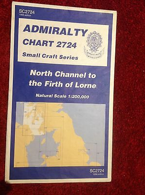 Admiralty Chart 2724, North Channel to Firth of Lorne.