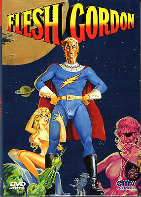 Flesh Gordon 1 & 2 , limited small Hardbox - Double Feature , uncut , NEW , A