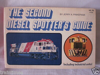 THE SECOND DEISEL SPOTTERS GUIDE -Pinkepank- USA & Canadian locos.