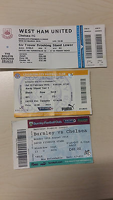 Chelsea FC Tickets - 3 away tickets
