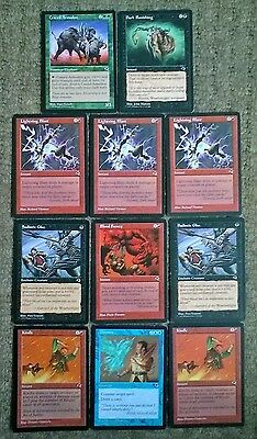 Magic the Gathering Tempest Card Collection mtg